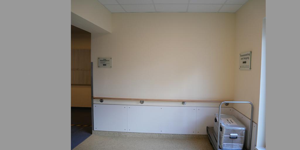 Asklepios Altona - Insentivzentrum - leere Wand