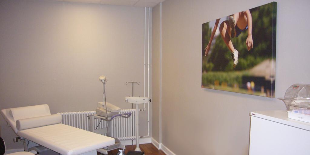 Fotodruck für ein Behandlungszimmer der Asklepios Klinik St. Georg