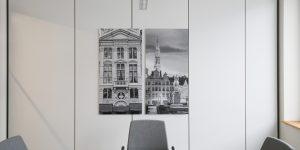Fotodrucke - Projekt tesa SE - Besprechungsraum, Thema Brüssel