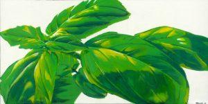 Gemälde mit Basilikum
