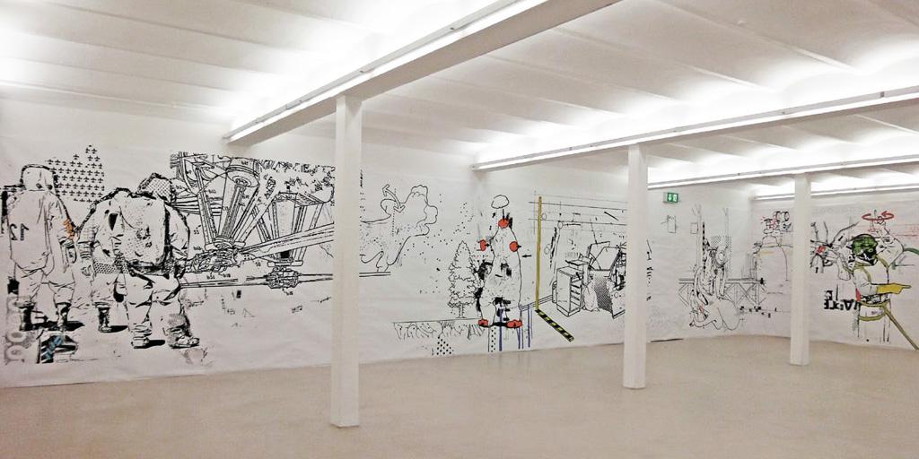 Gestaltung einer Halle von Johann Büsen