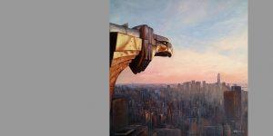 Gemälde Guten Morgen New York von Uwe Fehrmann