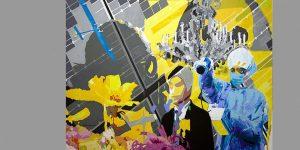 Gemälde Solar Impulse von Uwe Fehrmann