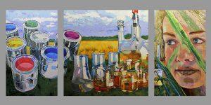 Triptychon von Uwe Fehrmann
