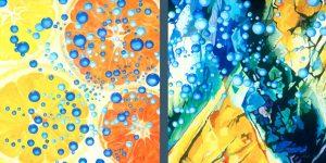 Vitamin C gemalt von der Künstlerin Meike Kohls