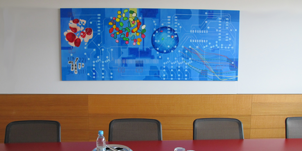 Gemälde Netzwerke von Meike Kohls