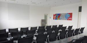 Gemälde Diagnostikmethoden von Meike Kohls für einen Kursraum