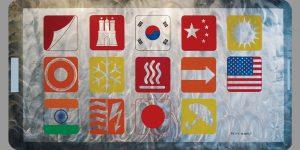 Gemälde App Wärmemanagement von Meike Kohls für tesa SE