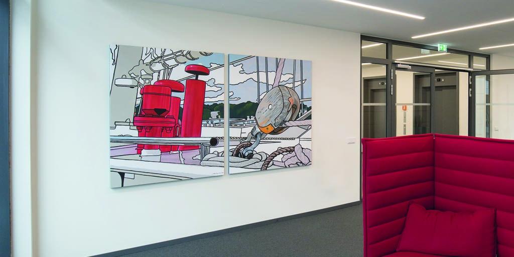 Auftragskunst - individuelle Gemälde für Unternehmen