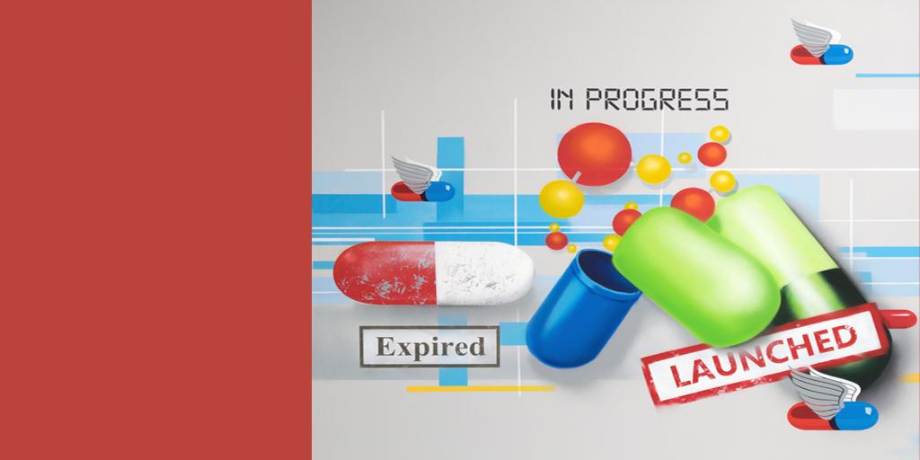 Graffiti mit Tabletten