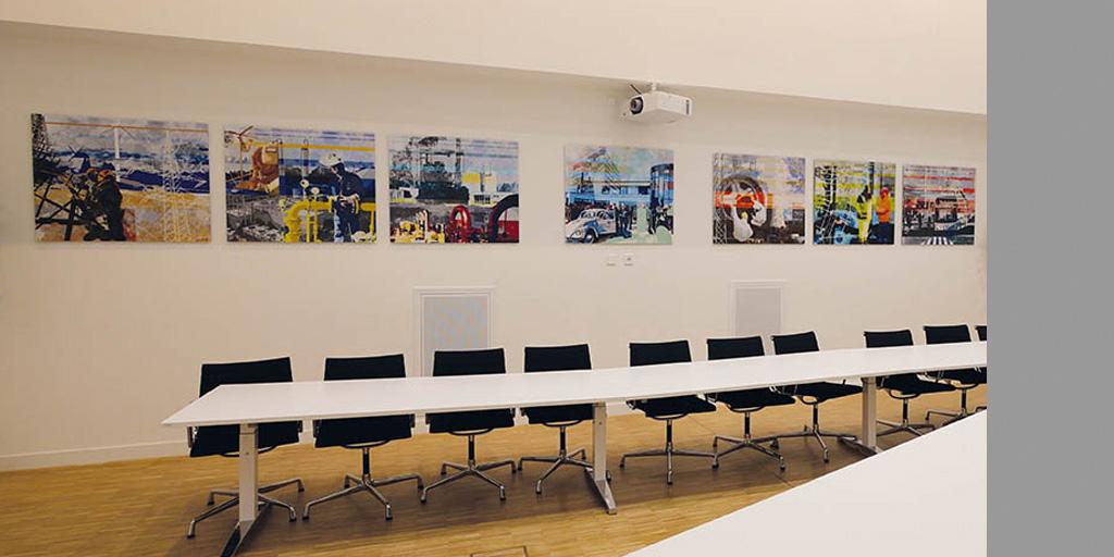 Illustrationene für den Besprechungsraum bei LSW