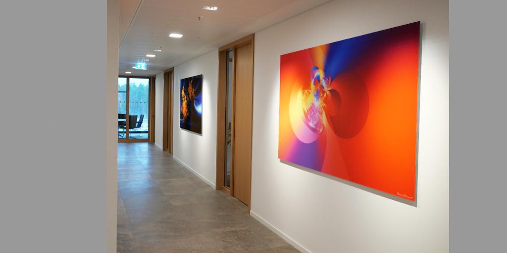 Motiv Wand 1 und Wand 2 von Klaus Sellmann für Orafol GmbH