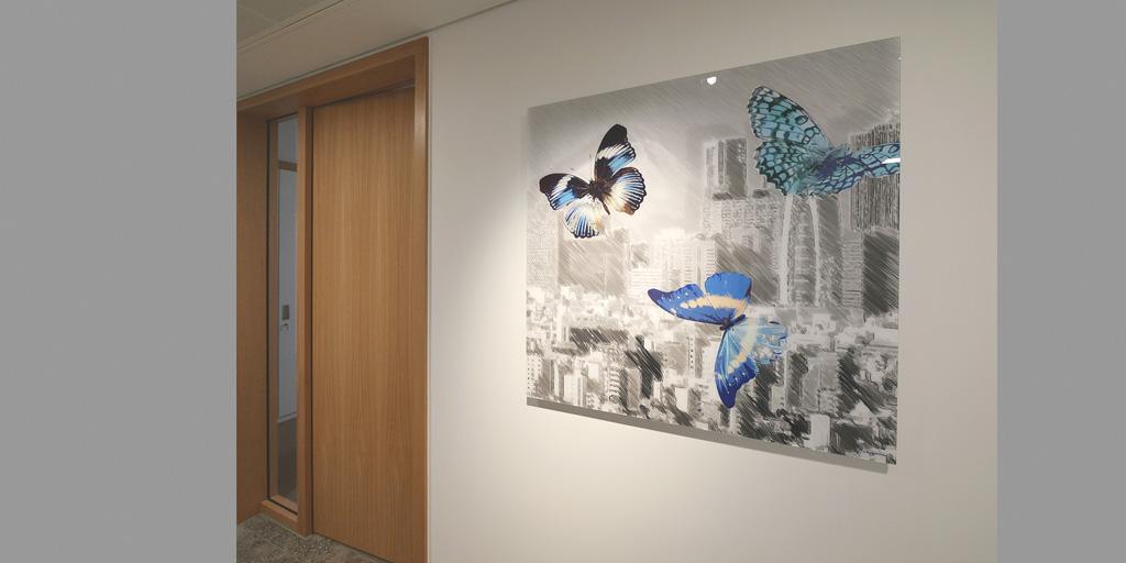 Illustration Schmetterlinge von Uwe Fehrmann