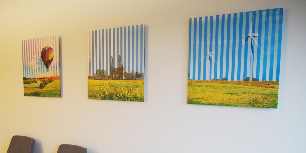 Drei Illustrationen von Pellegrino Ritter
