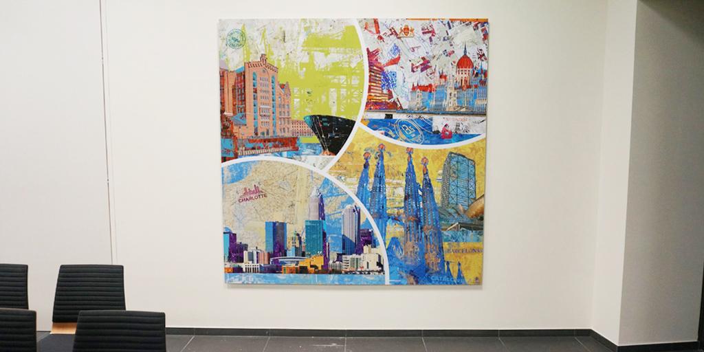 Illustration Städte weltweit von Pellegrino Ritter