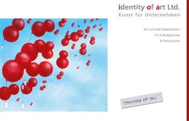 Imagekatalog von identity of art