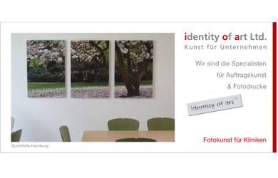 Krankenhaus Flyer - Fotodrucke von identity of art Juni 2014