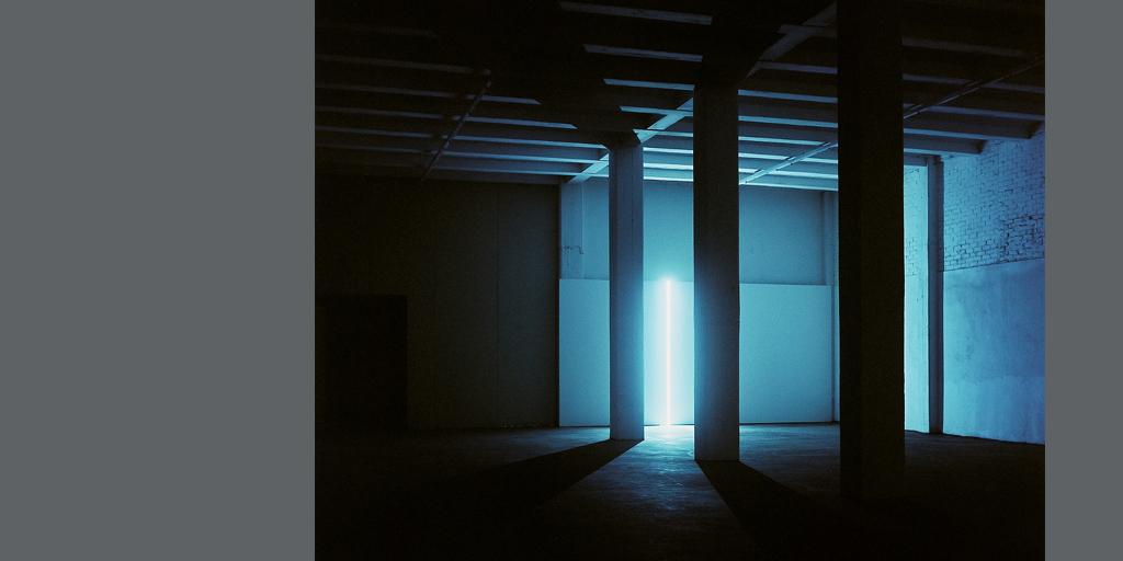 Licht-Raum-Installation STILL. von Günter Ries