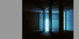 Lichtinstallation Still von Günter Ries