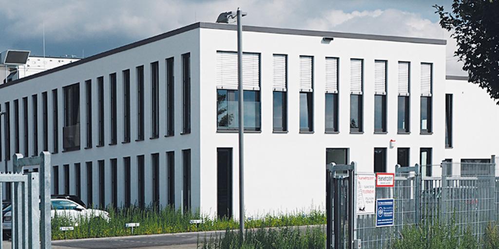 Firmengebäude von Ammeraal Beltech GmbH in Geesthacht