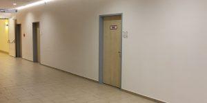 Fluransicht ohne Fotodrucke, Asklepios Klinik Wandsbek