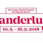 Ausstellung Wanderlust - Logo