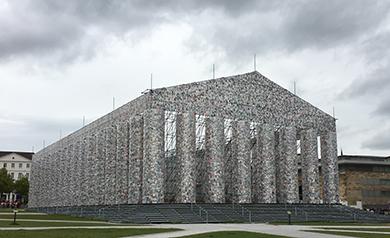 Beitragsbild für News über den Parthenon, Documenta 14