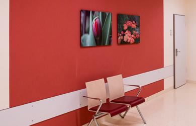 Beitragsbild Wartebereich Asklepois Klinik Altona