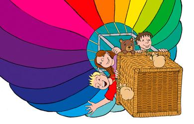 Beitragsbild Illustration Fesselballon von Christian Schütte