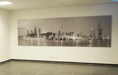 Panoramadruck für G.U.N.T. GmbH von Nils Heiliger