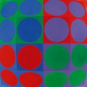 Beitragsbild von Victor Vasarely Vega Pal 1969 Musée Unterlinden Colmar