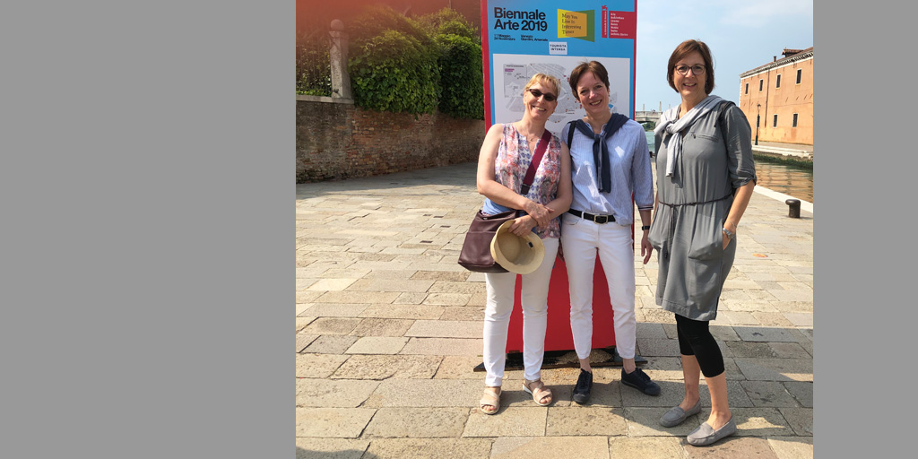 Biennale 2019 - das Team von identity of art