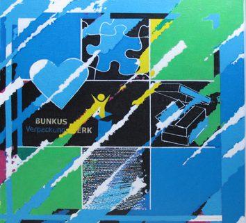 Ein Gemälde für die Bunkus GmbH
