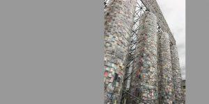 Ausschnitt Parthenon von der Künstlerin Marta Minujin
