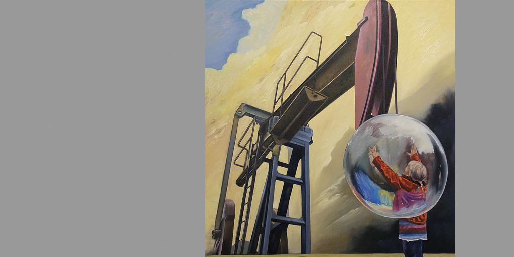 Gemälde Impuls von Uwe Fehrmann