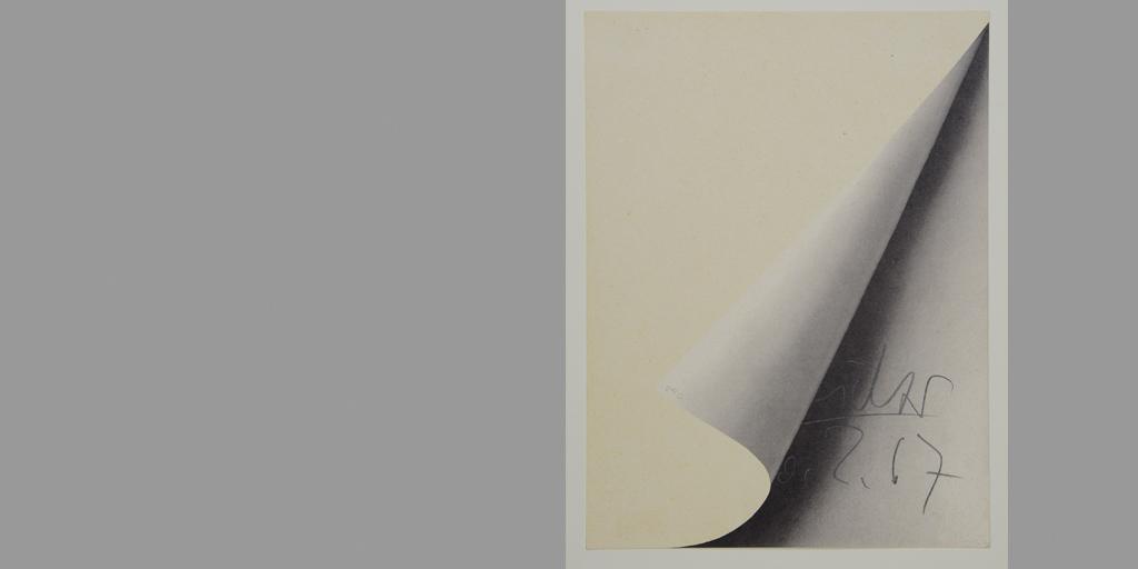 Kunsthalle München - Gerhard Richter - Blattecke 1967