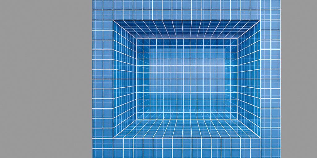 Kunsthalle München - Hans Peter Reuter - Kachelraum ohne Ding Nr 110 1976