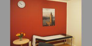 Fotodruck Motiv Alter Elbtunnel für Untersuchungsraum im MVZ Buntenskamp GmbH
