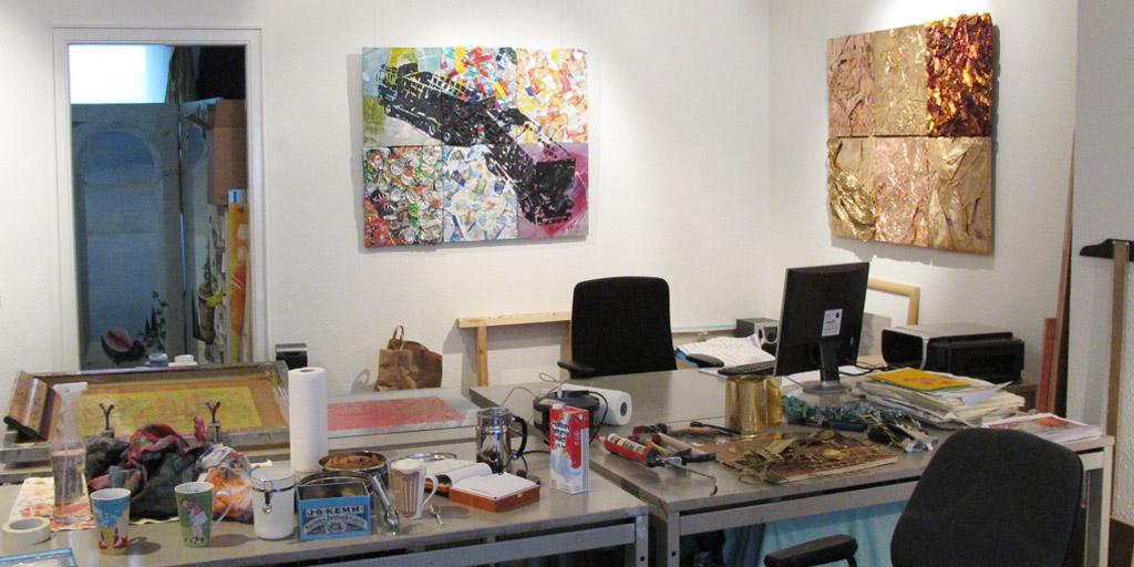Das Atelier von Meike Kohls
