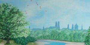 Ausschnitt eines Gemäldes von Meike Kohls für die MLL GmbH