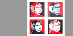 Meike Kohls portraitiert Petra Obermayr