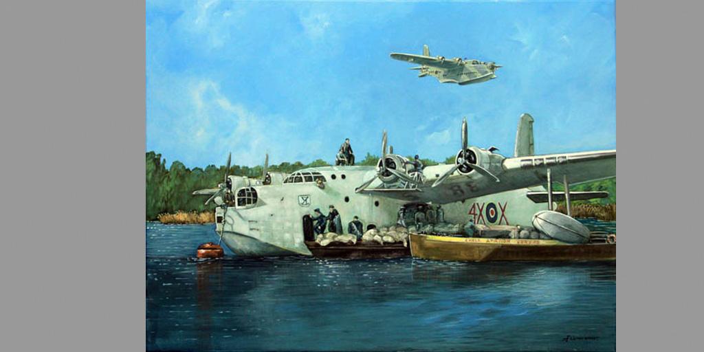 Gemälde Motiv Great Britain von Uwe Fehrmann
