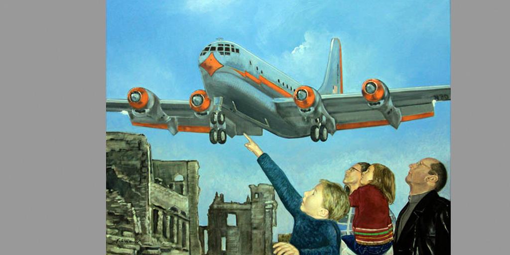 Gemälde Motiv USA von Uwe Fehrmann