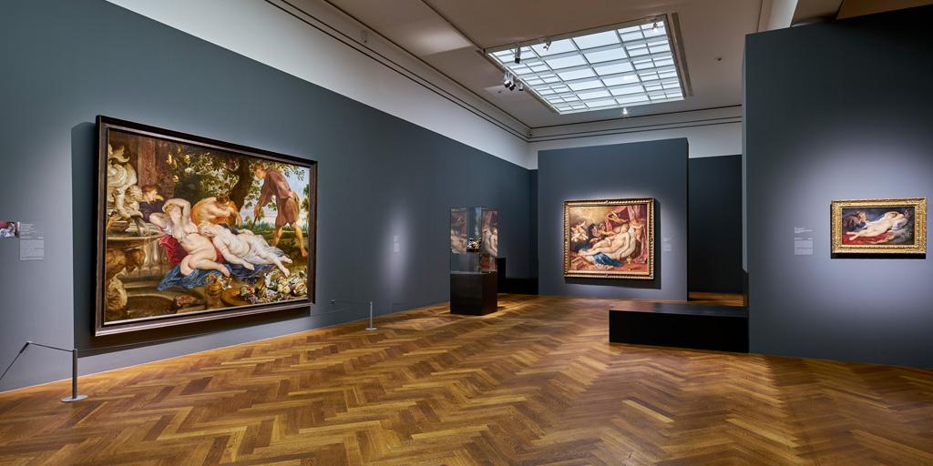 Ausstellungsansicht 14 der Rubensausstellung im Städel Museum
