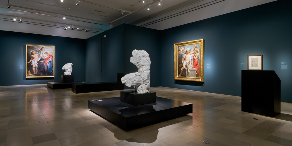Ausstellungsansicht 9 der Rubensausstellung im Städel Museum