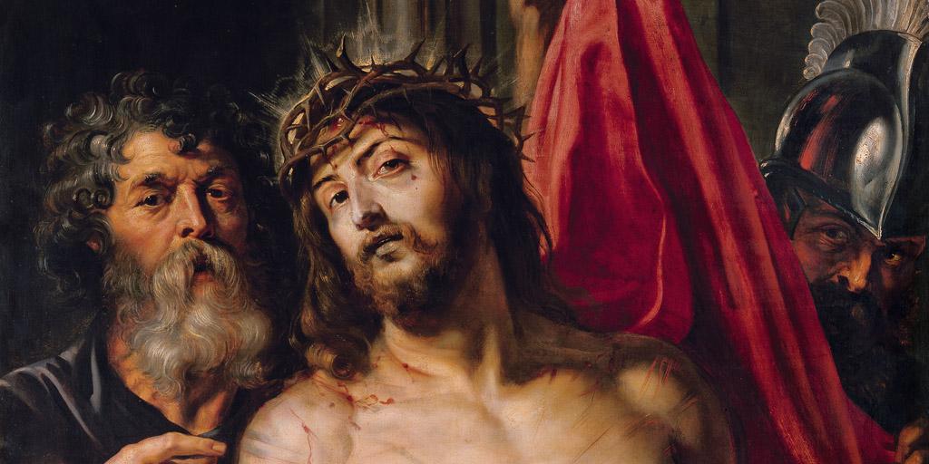 Rubens Gemälde Ecce homo im Städel Museum Frankfurt