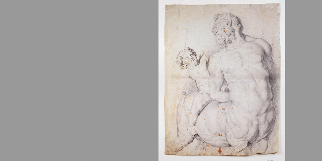 Städel Museum - Kentaur von Cupido gezähmt