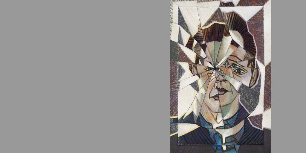 Städel Museum Victor Vasarely Autoportrait 1944 Galerie Philippe David Zürich