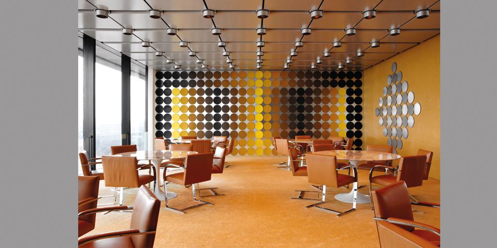 Städel Museum Victor Vasarely Speisesaal 1972 Kunstsammlung Deutsche Bundesbank