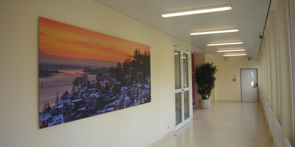 Panoramadruck - Asklepios Klinik Altona - Flur - Blankeneser Treppenviertel